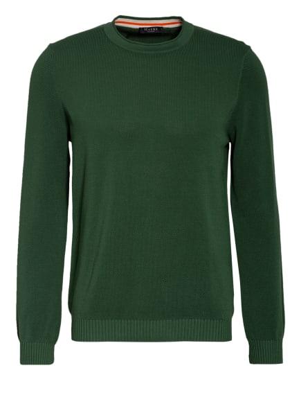 MAERZ MUENCHEN Piqué-Pullover, Farbe: DUNKELGRÜN (Bild 1)