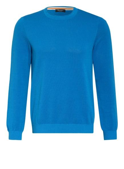 MAERZ MUENCHEN Piqué-Pullover, Farbe: BLAU (Bild 1)