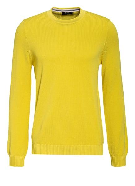 MAERZ MUENCHEN Piqué-Pullover, Farbe: GELB (Bild 1)
