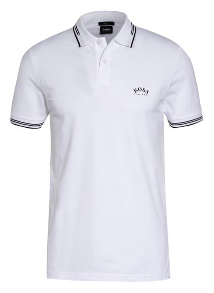 BOSS Piqué-Poloshirt PAUL Slim Fit , Farbe: WEISS (Bild 1)