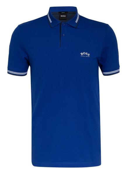 BOSS Piqué-Poloshirt PAUL Slim Fit , Farbe: BLAU (Bild 1)