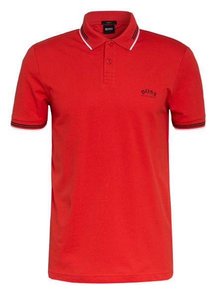 BOSS Piqué-Poloshirt PAUL Slim Fit , Farbe: ROT/ SCHWARZ (Bild 1)