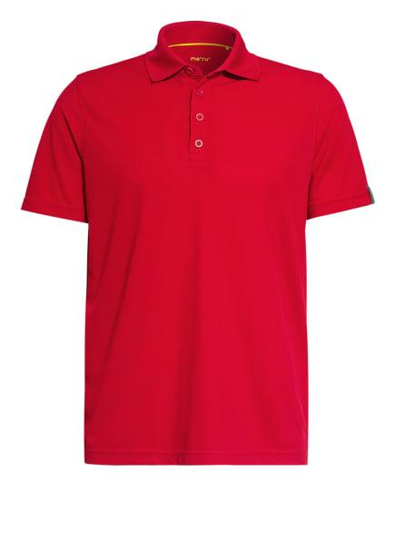 me°ru' Funktions-Poloshirt WEMBLEY, Farbe: ROT (Bild 1)