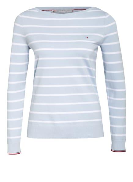 TOMMY HILFIGER Pullover, Farbe: HELLBLAU/ WEISS (Bild 1)