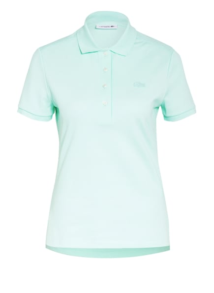 LACOSTE Piqué-Poloshirt Slim Fit, Farbe: MINT (Bild 1)