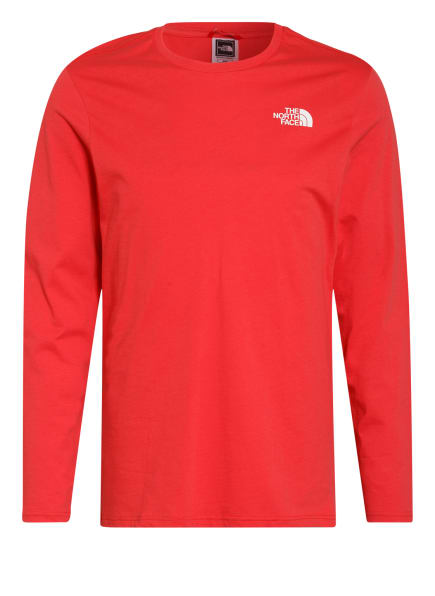 THE NORTH FACE Longsleeve, Farbe: ROT (Bild 1)