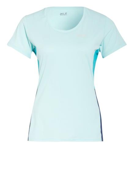 Jack Wolfskin T-Shirt NARROWS , Farbe: MINT/ TÜRKIS/ BLAU (Bild 1)