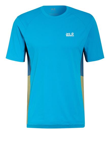 Jack Wolfskin T-Shirt NARROWS, Farbe: HELLBLAU (Bild 1)