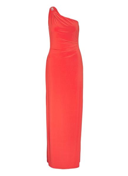 LAUREN RALPH LAUREN One-Shoulder-Kleid, Farbe: ORANGE (Bild 1)