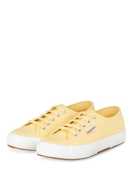SUPERGA Sneaker 2750 COTU CLASSIC, Farbe: GELB (Bild 1)