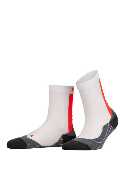 FALKE Strümpfe ACHILLES , Farbe: 2028 WHITE-NEON RED (Bild 1)