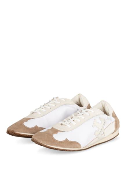 TORY BURCH Sneaker, Farbe: WEISS/ CAMEL (Bild 1)