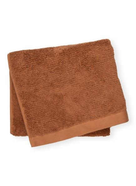AQUANOVA Handtuch OSLO, Farbe: BRAUN (Bild 1)