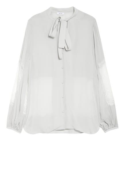 REISS Schluppenbluse LIZA, Farbe: HELLBLAU (Bild 1)