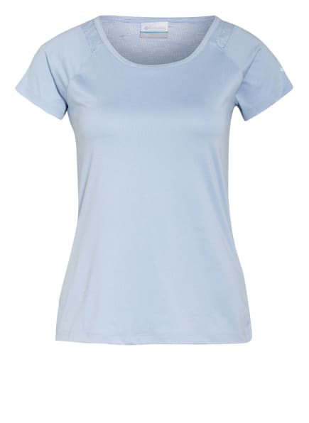Columbia T-Shirt PEAK To Point™ mit Mesh-Einsatz, Farbe: 467 sky heather (Bild 1)