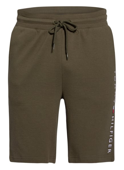 TOMMY HILFIGER Lounge-Shorts , Farbe: OLIV (Bild 1)