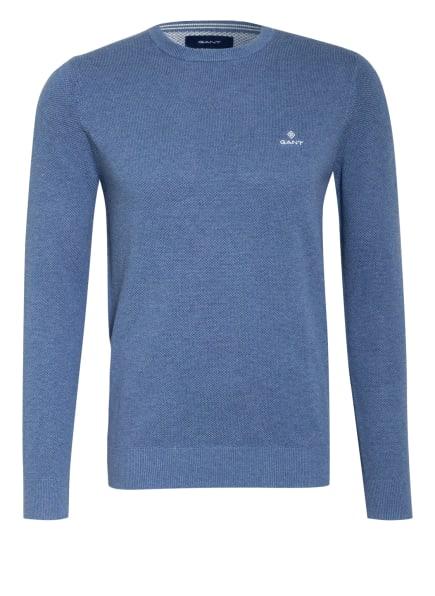 GANT Pullover, Farbe: BLAUGRAU (Bild 1)