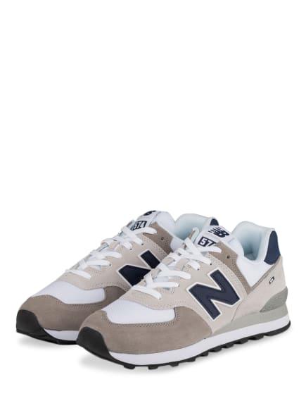 new balance Sneaker 574, Farbe: WEISS/ GRAU (Bild 1)