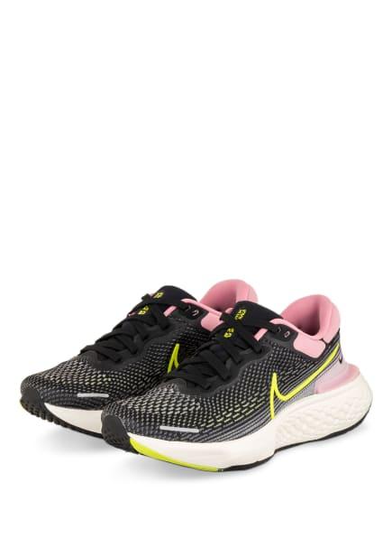 Nike Laufschuhe ZOOMX INVINCIBLE RUN FLYKNIT, Farbe: SCHWARZ/ ROSÉ (Bild 1)