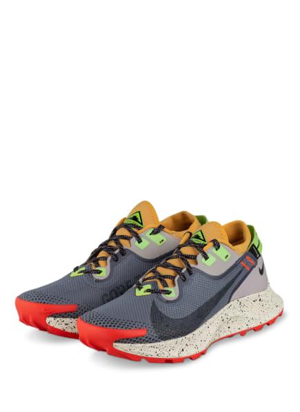 Nike Trailrunning-Schuhe PEGASUS TRAIL 2 GORE-TEX, Farbe: GRAU/ ORANGE/ HELLGRAU (Bild 1)