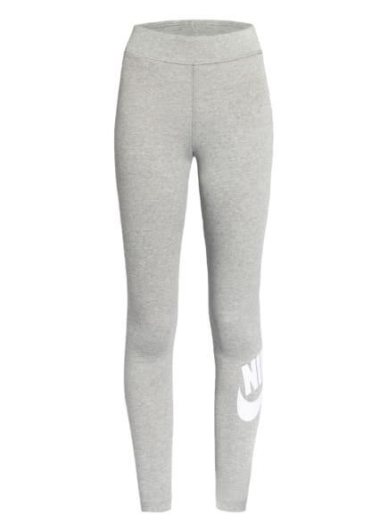 Nike 7/8-Tights SPORTSWEAR ESSENTIAL, Farbe: HELLGRAU/ WEISS (Bild 1)