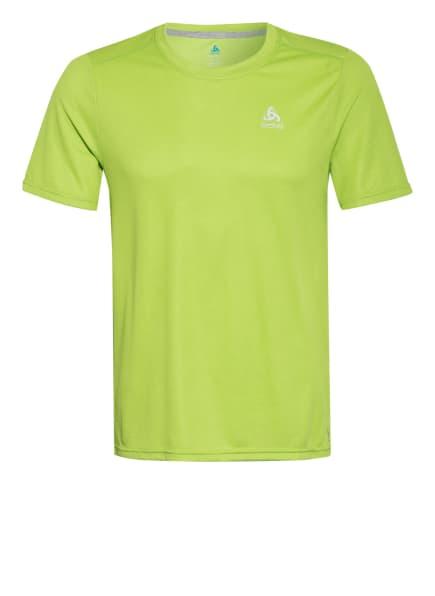 odlo T-Shirt F-DRY mit UV-Schutz 30+, Farbe: NEONGRÜN (Bild 1)