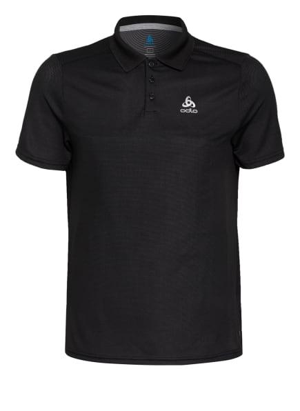 odlo Funktions-Poloshirt F-DRY mit UV-Schutz 30+, Farbe: SCHWARZ (Bild 1)