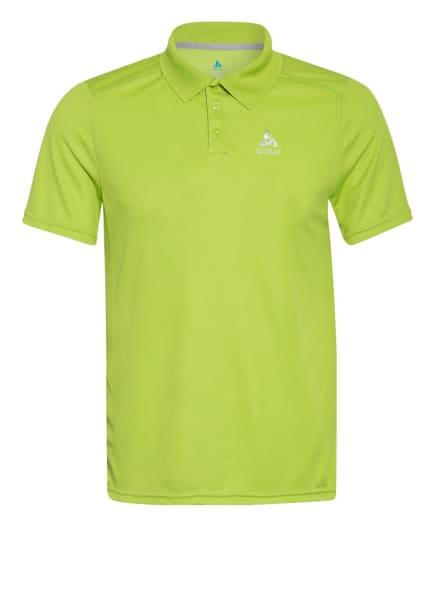 odlo Funktions-Poloshirt F-DRY mit UV-Schutz 30+, Farbe: NEONGRÜN (Bild 1)