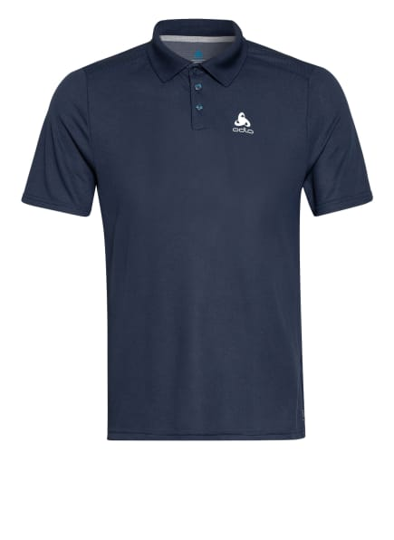 odlo Funktions-Poloshirt F-DRY mit UV-Schutz 30+, Farbe: BLAUGRAU (Bild 1)