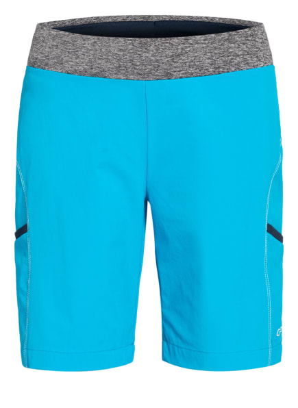 CMP Outdoor-Shorts mit UV-Schutz 30, Farbe: NEONBLAU/ GRAU (Bild 1)