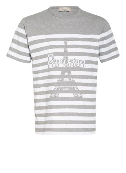 MAISON KITSUNÉ T-Shirt , Farbe: GRAU/ WEISS (Bild 1)