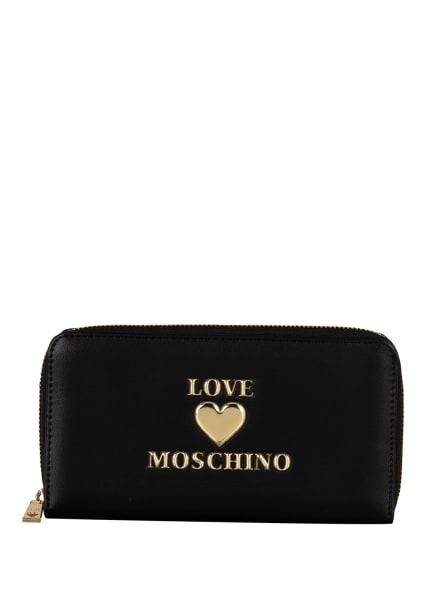 LOVE MOSCHINO Geldbörse, Farbe: SCHWARZ (Bild 1)