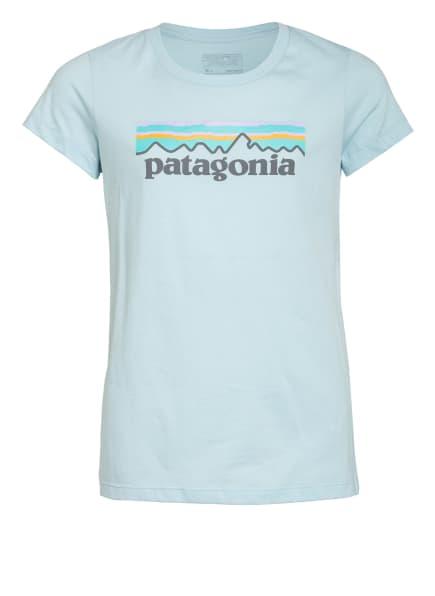 patagonia T-Shirt, Farbe: HELLBLAU (Bild 1)