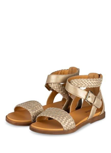 BULLBOXER Sandalen, Farbe: BEIGE (Bild 1)