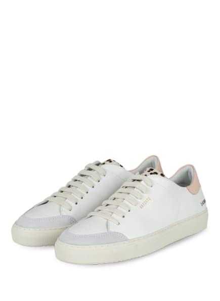 AXEL ARIGATO Sneaker CLEAN 90, Farbe: WEISS/ HELLGRAU/ HELLROSA (Bild 1)