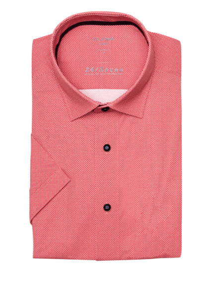 OLYMP Kurzarm-Hemd Luxor 24/7 modern fit, Farbe: ROT (Bild 1)