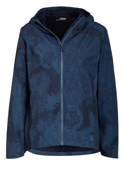 SALOMON Outdoor-Jacke ESSENTIAL, Farbe: PETROL/ DUNKELGRAU (Bild 1)
