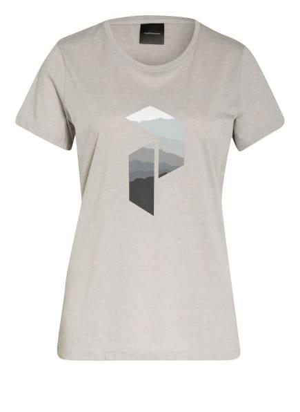 Peak Performance T-Shirt EXPLORE, Farbe: GRAU/ HELLGRAU/ DUNKELGRAU (Bild 1)