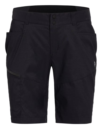 Peak Performance Outdoor-Shorts ICONIC, Farbe: SCHWARZ (Bild 1)
