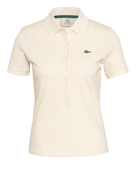 LACOSTE L!VE Piqué-Poloshirt, Farbe: ECRU (Bild 1)