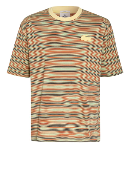 LACOSTE L!VE T-Shirt, Farbe: BEIGE/ CREME/ BRAUN (Bild 1)