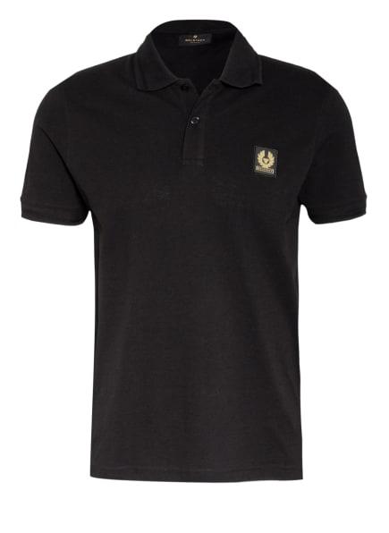 BELSTAFF Piqué-Poloshirt , Farbe: SCHWARZ (Bild 1)