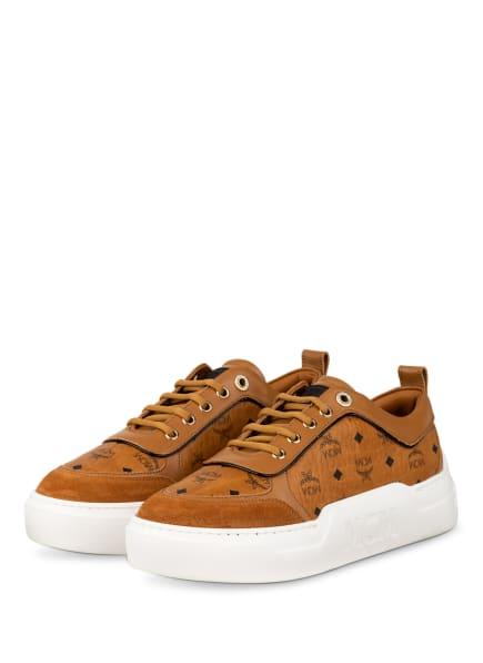 MCM Plateau-Sneaker SKYWARD, Farbe: COGNAC (Bild 1)