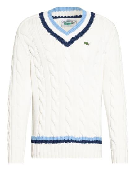 LACOSTE Pullover , Farbe: WEISS/ HELLBLAU/ BLAU (Bild 1)