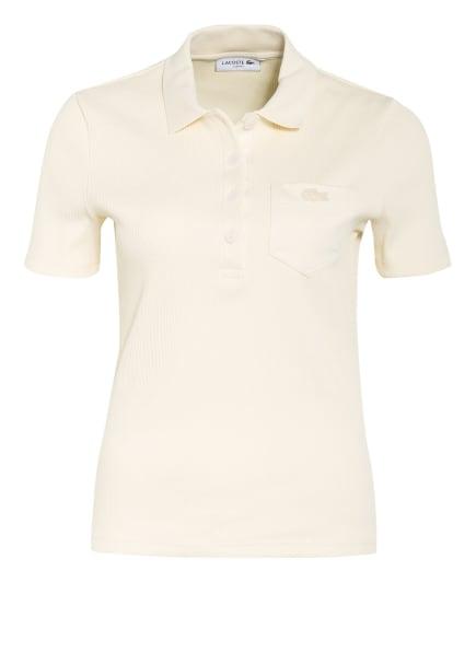 LACOSTE Jersey-Poloshirt, Farbe: ECRU (Bild 1)