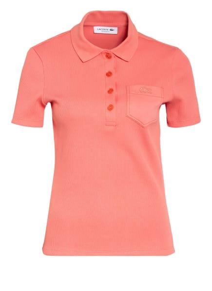 LACOSTE Jersey-Poloshirt, Farbe: LACHS (Bild 1)