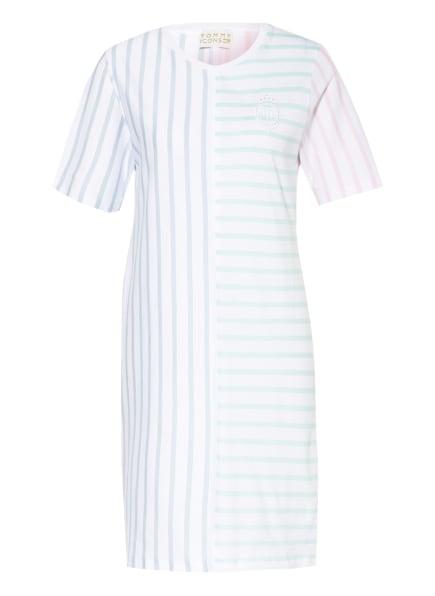 TOMMY HILFIGER Kleid ICON, Farbe: WEISS/ HELLBLAU/ MINT (Bild 1)