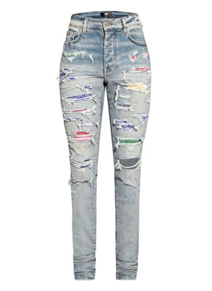AMIRI Destroyed Jeans Extra Slim Fit , Farbe: 408 CLAY INDIGO (Bild 1)