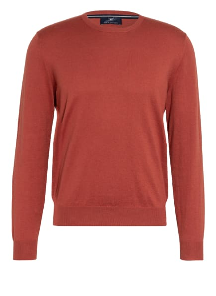 STROKESMAN'S Pullover, Farbe: DUNKELROT (Bild 1)