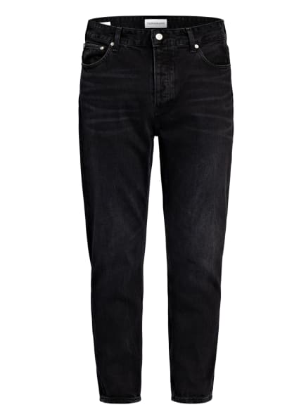 Calvin Klein Jeans Jeans Tapered Fit, Farbe: 1BY DENIM BLACK (Bild 1)